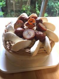 コーヒーモンブランケーキレッスン - 調布の小さな手作りお菓子教室 アトリエタルトタタン