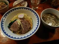 豚骨アジ節醤油つけ麺にミニハナブタ飯(ハナウタ18:2018年183杯目) - eihoのブログ2
