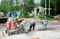 道路補修工事と災害列島日本 - 照片画廊