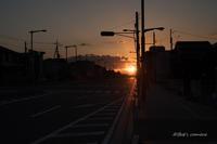 日が沈む - BobのCamera