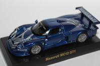 1/64 Kyosho MASERATI MC12 GT1 - 1/87 SCHUCO & 1/64 KYOSHO ミニカーコレクション byまさーる