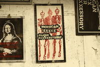 ガイコツ×2 影×1  MOHICAN XXXXX SILVER AXXXXXESSORY / MOHICAN XXXXXART WORK - アクセサリー職人 モリタカツヤ MOHICAN XXXXX  Jewelry Factory KUROBE
