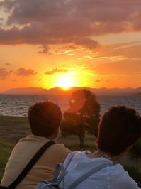 宍道湖の夕日は美しかった - KOZOUの旅日記