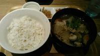 こめらく ニッポンのお茶漬け日和『牛肉、里芋、根菜の田舎汁(山形いも煮)』 - My favorite things
