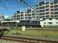 やっと会えたJR東日本215系湘南ライナー - 子どもと暮らしと鉄道と