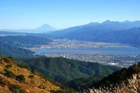 真昼の高ボッチ諏訪湖富士も絶景かな♪ - 『私のデジタル写真眼』