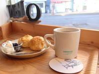 プレーンスコーンと今日の珈琲:The Lobby UMINECO(青森市) - 津軽ジェンヌのcafe日記