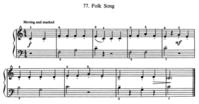 プチ練習No.10 The Folk Song - No Man's Land