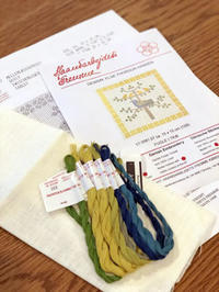いくつも抱えてるのに、さらに新しいものに着手するんですって。 - 浜松の刺繍教室 l'Atelier de foyu の 日々