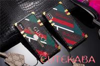 アイトランクパロディー風GUCCIデザインiPhone xs max/xsスマホケースレディース愛用! - ブランドデザインiPhone/Galaxyケース