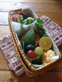 10.4 鮭おにぎり&グリルチキン弁当#OnigiriAction - YUKA'sレシピ♪