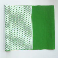 9419回 綿綾選三尺帯緑網目 - 今日の凧人