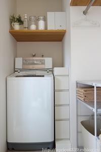 無印良品のファイルボックス用フタ@脱衣所の収納 - シンプルで心地いい暮らし