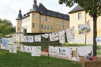 ディック城のガーデンフェアで子供スタンプ工作に初挑戦☆ - ドイツより、素敵なものに囲まれて②