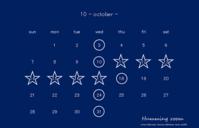 10月の営業 - Humming room
