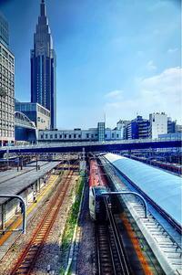 新世紀大江戸百景その60東京新宿駅 - 風の香に誘われて 風景のふぉと缶