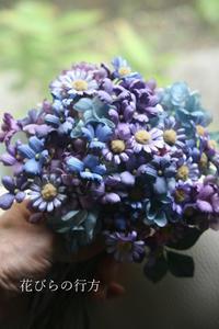 咲いたよ~布花小花がたくさん咲いたよ~ - 布の花~花びらの行方 Ⅱ