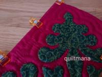 クリスマスブーツ - マナのキルト日記