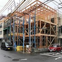 上棟 - 佐々木善樹建築研究室・・・日々のコト・・・