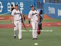 坂口智隆選手フォト@神宮10/2 - Out of focus ~Baseballフォトブログ~