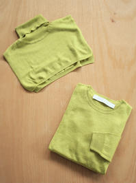 ASEEDONCLOUDSilk 2way knit / Mix Yellow - 『Bumpkins putting on airs』