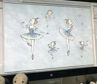 小さなバレリーナ - 絵を描くきもち-イツコルベイユ