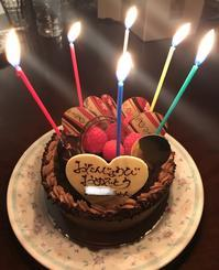 オットもお祝いしてくれました♪ - よく飲むオバチャン☆本日のメニュー