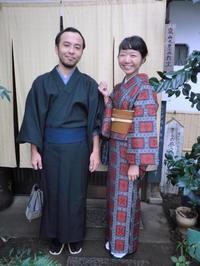 レトロなお着物がお気に入り、ご夫婦さんで。 - 京都嵐山 着物レンタル&着付け「遊月」