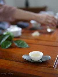中国茶講座が始まりました。 - お茶をどうぞ♪