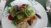 ヴィラデストカフェで昼食を10/6 - つくしんぼ日記 ~徒然編~