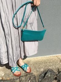 緑色とターコイズブルー - jiu sandals & baby shoes