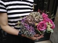 9月のレッスンの様子・秋色のパリのお花 - Très joliのstudio