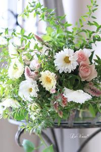 コスモスのブーケ - Le vase*  diary 横浜元町の花教室