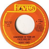 Frankie Vance ‎– Somewhere In Your Life (You've Been Hurt) / You Are My Solution - まわるよレコード ACE WAX COLLECTORS
