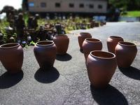 音響壷と秋の花火☆ - のぼり窯 窯元の日々