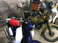 2018 Honda C125(JA48) - 旭川市のカスタムハーレー部門・スーパーカブ部門・ガレージ部門 S&F Group合同ブログ!