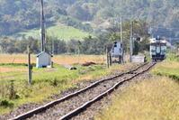 遥かに望む駅 - photo:mode
