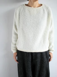 FACTORYALPACA × SILK SHORT TAMTAM SWEATER / KINARI - 『Bumpkins putting on airs』
