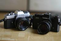 被写体はヤシカのフィルム一眼レフ・・・。 - 岳の父ちゃんの PhotoBlog