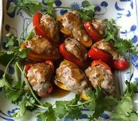 ミニパプリカの肉詰め - やせっぽちソプラノのキッチン2