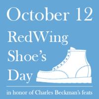 10月12日は「レッドウィングの日」です。 #レッドウィングの日 - 今日も晴れて幸せ!