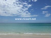 ネグリル、7マイルビーチ - ジャマイカブログ Ricoのスケッチ・ダイアリ