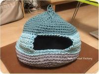 猫ちぐら作ってみた - あみぐるみブログ Keiko's Wool Life