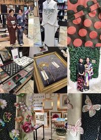 ♯Play kimono2018秋&ファッションとキモノとコラージュ展agrisKIMONO - 水鏡 mizukagami