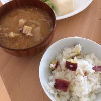 【レシピ】簡単さつまいもご飯と豚汁 - 食日和 ~アレルギーっ子と楽しい毎日~