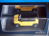 ようやくハスラー アクティブイエローのミニカーげっと! (MARK43 スズキハスラー G アクティブイエロー) - わが愛しのXXX。
