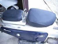 フロントシートをディンプルシートに張替え - 双 極の調べ