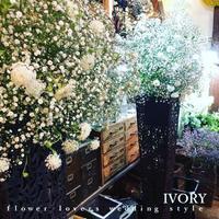 明日に備えて……。 -  Flower and cafe 花空間 ivory (アイボリー)
