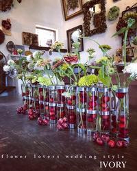 お電話が………。 -  Flower and cafe 花空間 ivory (アイボリー)