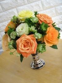 ハロインカラーの薔薇でアレンジ - Flower ID. DESIGN